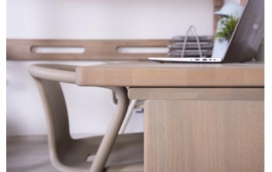 Deska pro psací stůl 1920 mm, buk cink