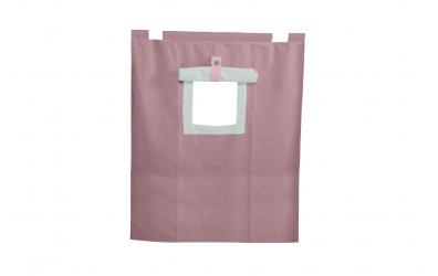 Závěsná textilie PASTEL palanda nízká - fialová