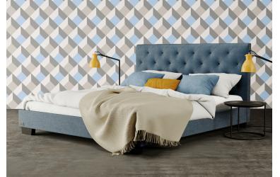 Čalouněná postel ALESIA,120x200, MATERASSO