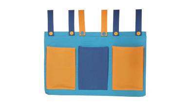 Textilní kapsy tyrkysové
