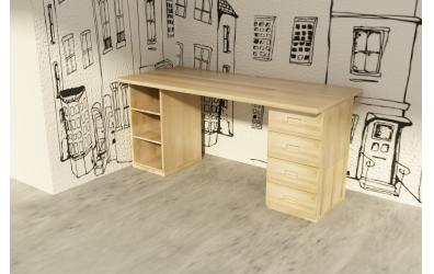 Deska pro psací stůl 1500 mm, buk cink