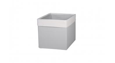 Textilní box do regálu SKANDI krémovo/šedý