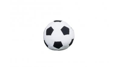 Textilie FOTBAL kopací míč bílý