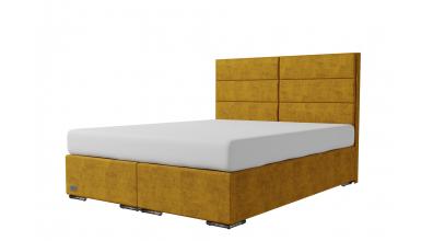 Čalouněná postel boxspring CORONA 160x200, MATERASSO