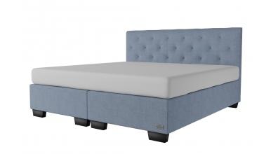 Čalouněná postel boxspring ALESIA 200x200, MATERASSO