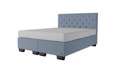 Čalouněná postel boxspring ALESIA 160x200, MATERASSO