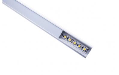 LED osvětlení čela postele 160 - teplá bílá