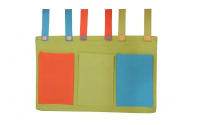 Textilní kapsy zelené