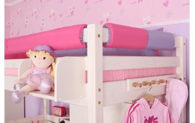 Textilní chránič krátký - růžovo fialový