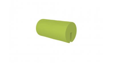 Textilie chránič kulatý krátký zelený
