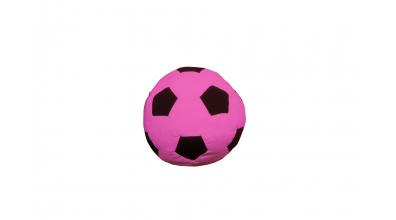 Textilie FOTBAL kopací míč růžový