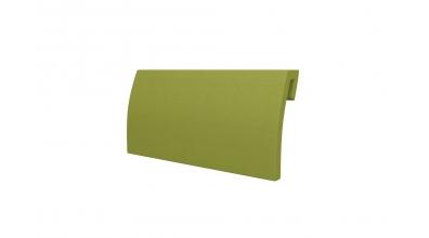 Čalouněná opěrka hlavy FANTAZIE - oblá zelená