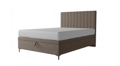 Čalouněná postel boxspring výklop Maxi BELLATRIX, 140x200, MATERASSO