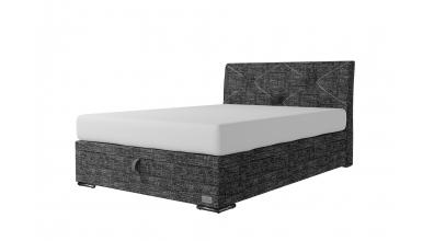 Čalouněná postel boxspring výklop Maxi ATLAS, 140x200, MATERASSO