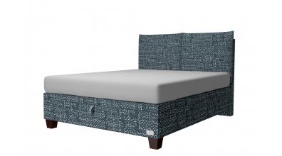 Čalouněná postel boxspring výklop Maxi KINGSTONE, 160x200, MATERASSO