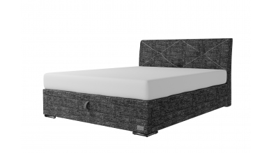 Čalouněná postel boxspring výklop Maxi ATLAS, 160x200, MATERASSO