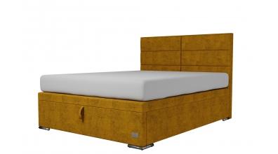 Čalouněná postel boxspring výklop Maxi CORONA, 160x200, MATERASSO