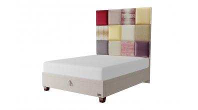 Čalouněná postel boxspring výklop Maxi PARIS, 160x200, MATERASSO