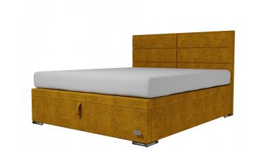 Čalouněná postel boxspring výklop Maxi CORONA, 180x200, MATERASSO