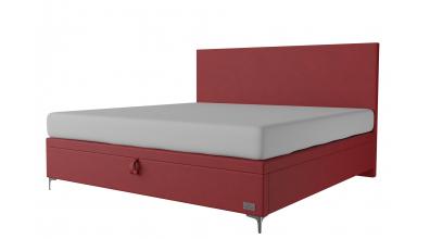 Čalouněná postel boxspring výklop Maxi SIRIUS, 200x200, MATERASSO