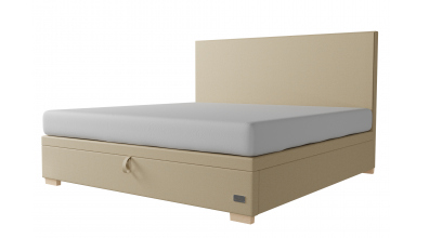 Čalouněná postel boxspring výklop Maxi ARGENTINA, 200x200, MATERASSO