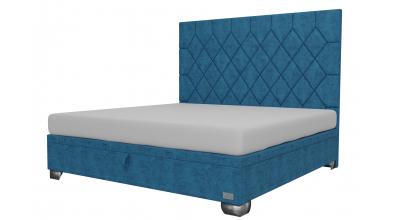 Čalouněná postel boxspring výklop Maxi RHOMBUS, 200x200, MATERASSO