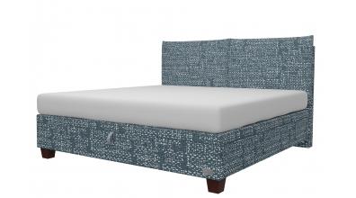 Čalouněná postel boxspring výklop Maxi KINGSTONE, 200x200, MATERASSO