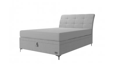 Čalouněná postel boxspring výklop Maxi CLAUDIA, 140x200, MATERASSO
