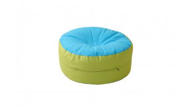 Sedací polštář tyrkysovo/zelený