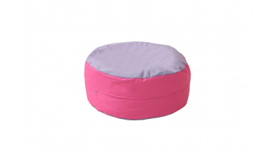 Sedací polštář růžovo/fialový