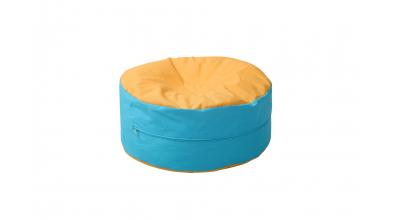 Sedací polštář žluto/tyrkysový
