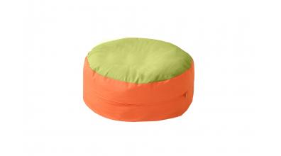 Sedací polštář zeleno/oranžový