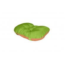 Sedák na Kláru 1 zeleno/oranžový