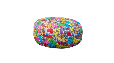 Sedací polštář comics barevný
