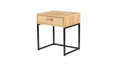 Noční stolek OAK se zásuvkou, MATERASSO