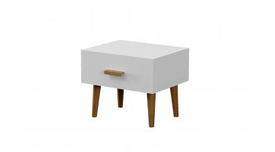 Noční stolek BIANCA se zásuvkou, MATERASSO