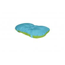 Sedák na Kláru 2 tyrkysovo/zelený