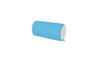 Textilní chránič krátký - tyrkysovo bílý