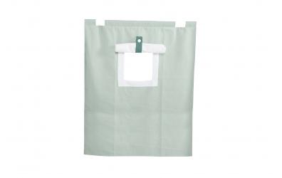 Závěsná textilie PASTEL palanda nízká - mint