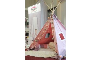 Textilie TEEPEE-PASTEL růžová