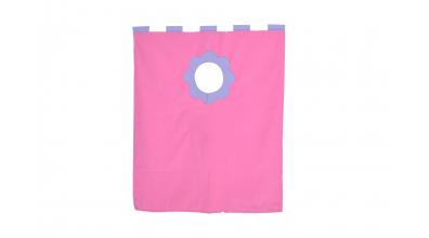 Závěsná textilie palanda nízká - růžová
