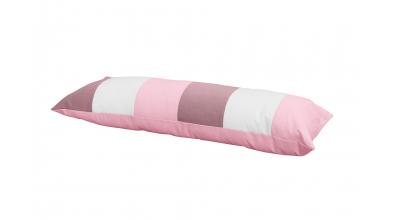 Polštář obdelník PASTEL - růžová