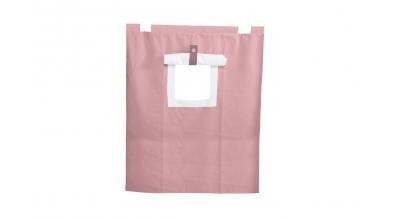 Závěsná textilie PASTEL palanda nízká - růžová