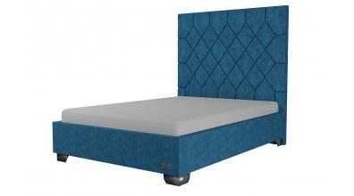 Čalouněná postel Rhombus,140x200, MATERASSO