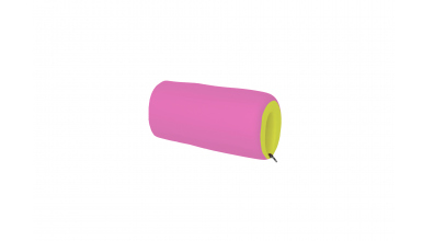 Textilní chránič krátký zeleno/růžový
