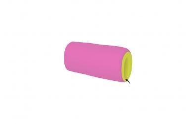 Textilní chránič krátký - zeleno růžový
