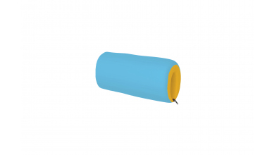 Textilní chránič krátký žluto/tyrkysový