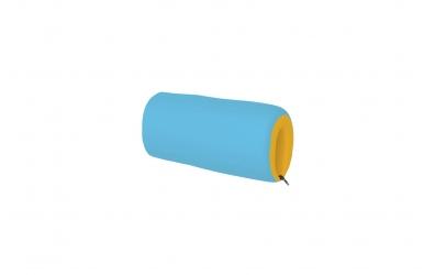 Textilní chránič krátký - žluto tyrkysový