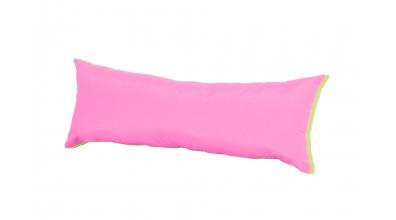 Polštář obdélník zeleno/růžový