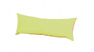 Polštář obdélník zeleno/oranžový